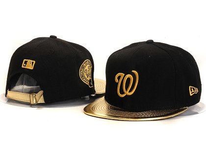 Washington Nationals New Type Snapback Hat YS7604